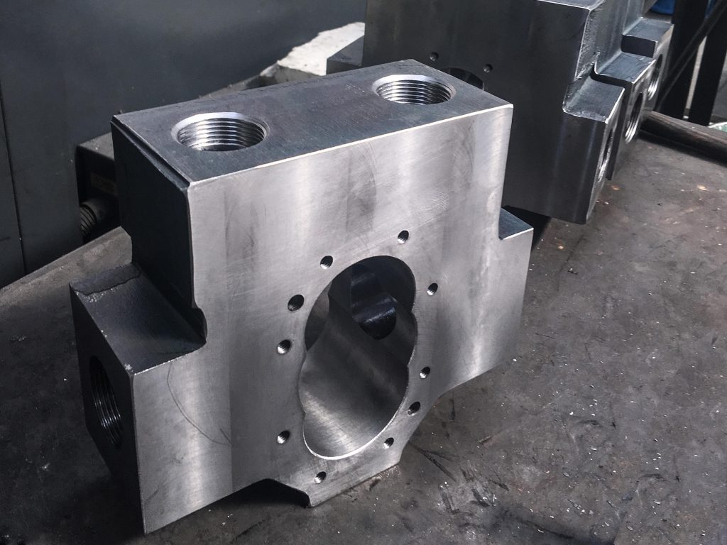 Steel Block Casing